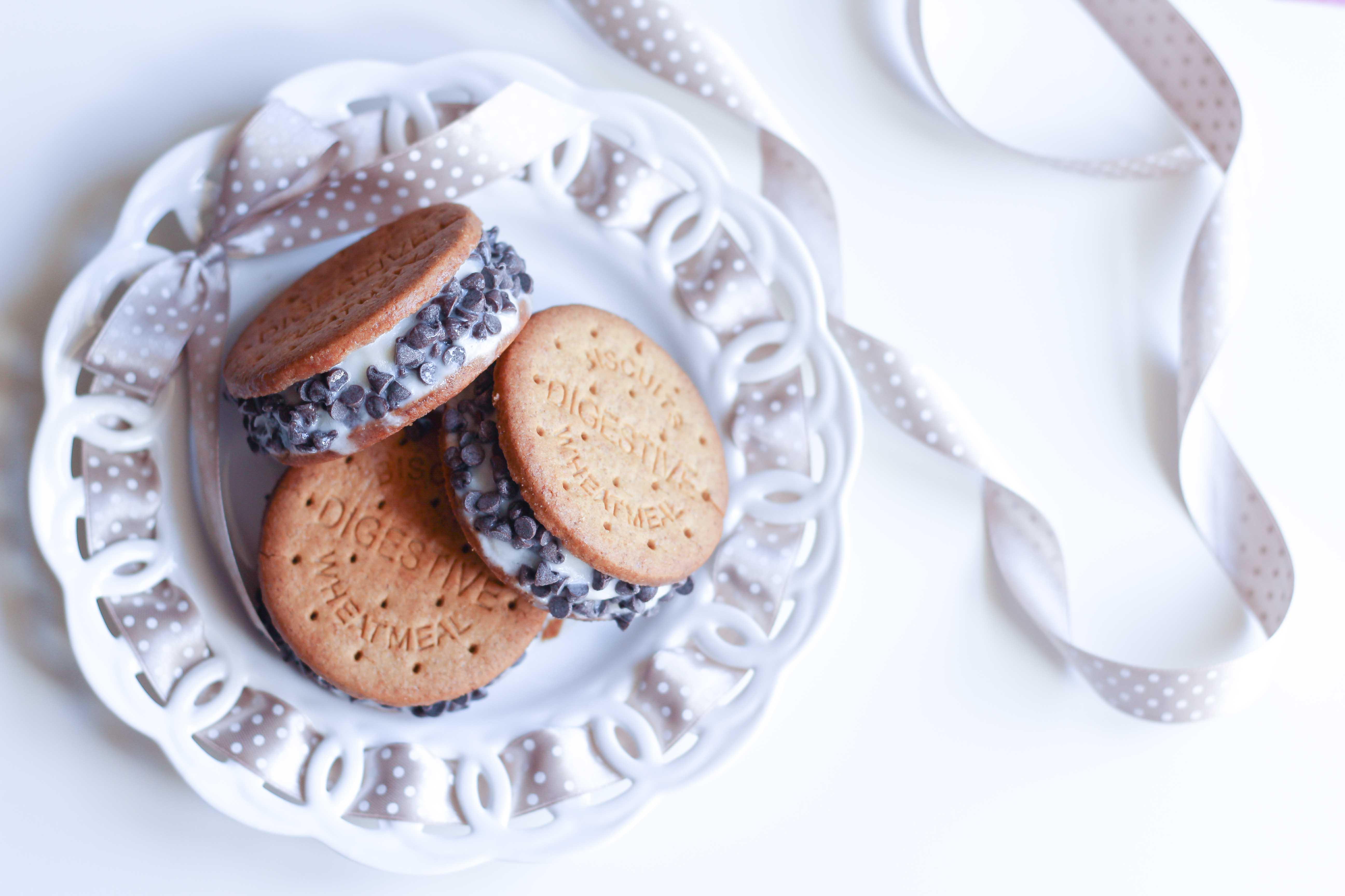 biscotto gelato cookie