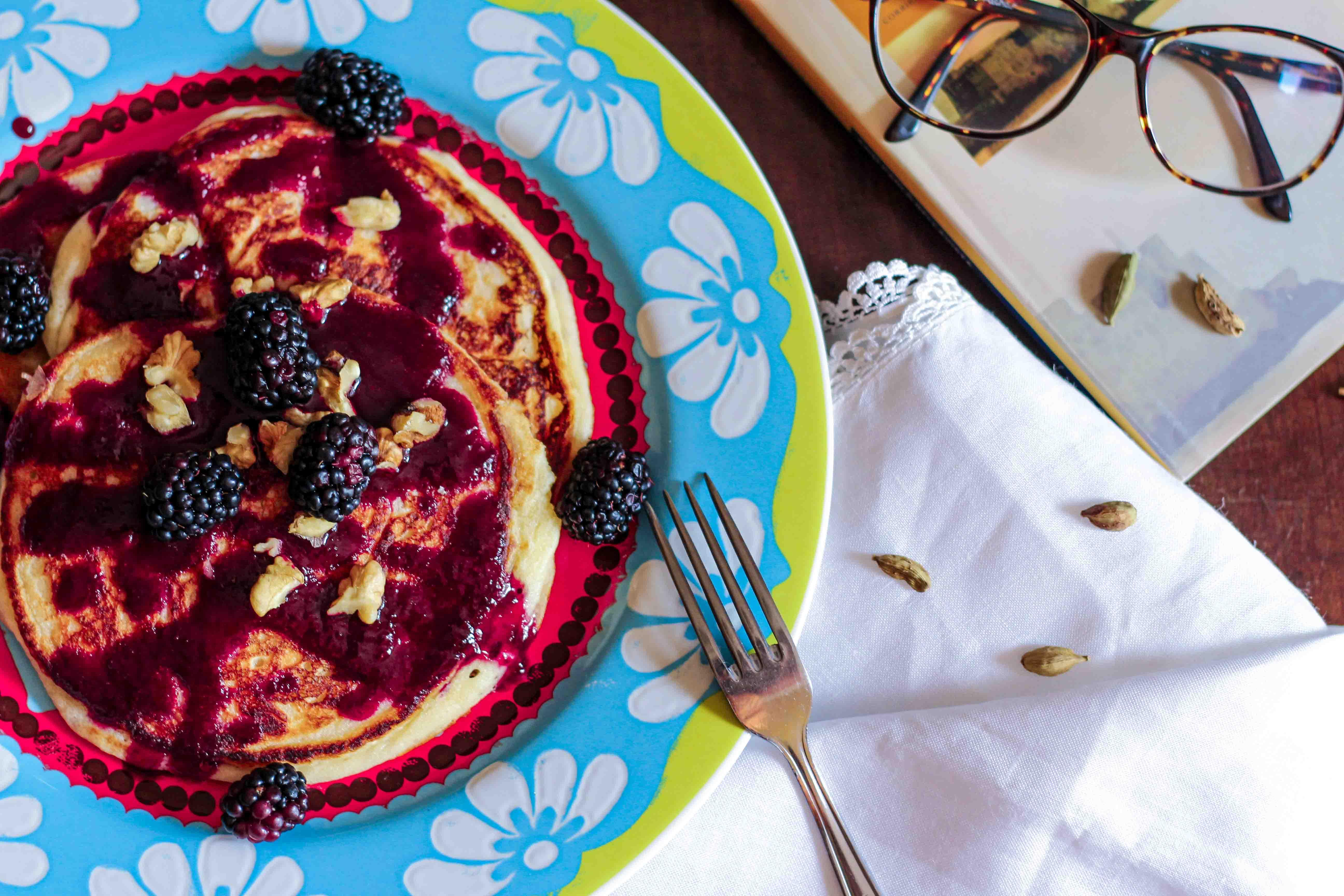pancake con more