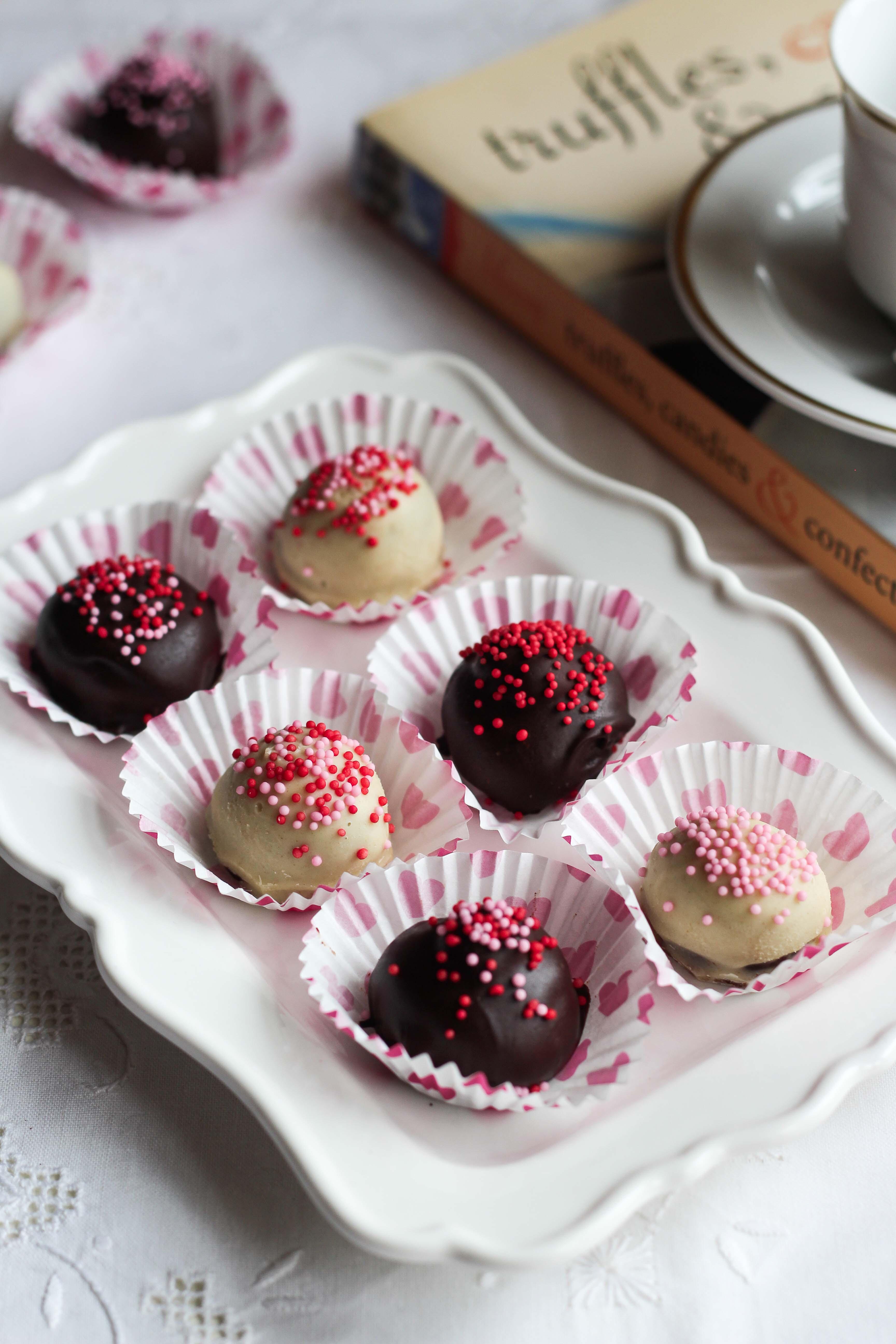 mocha truffles valentine
