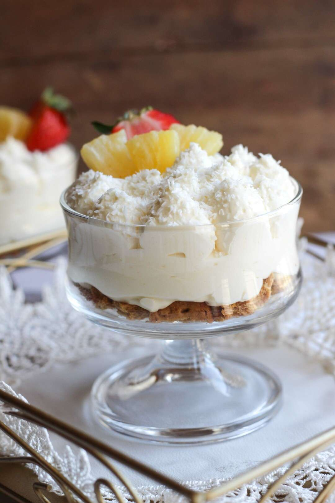 lemon curd cheesecake trifle