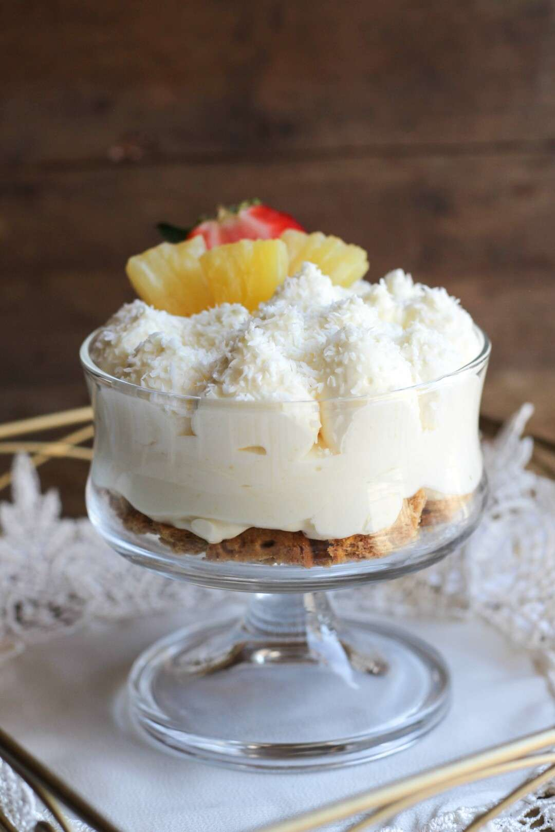 lemon exotic trifle