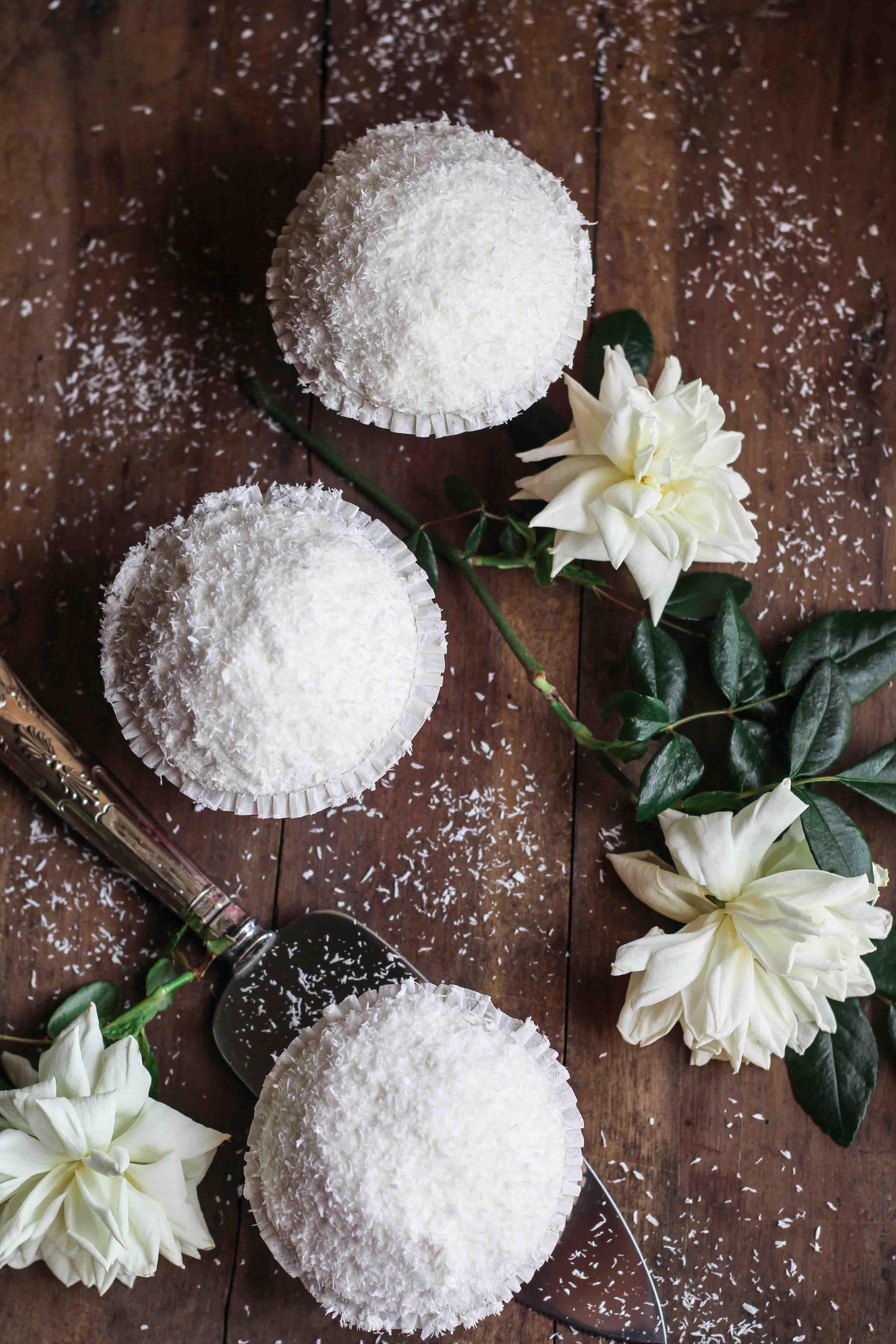 cupcake al cocco e limone