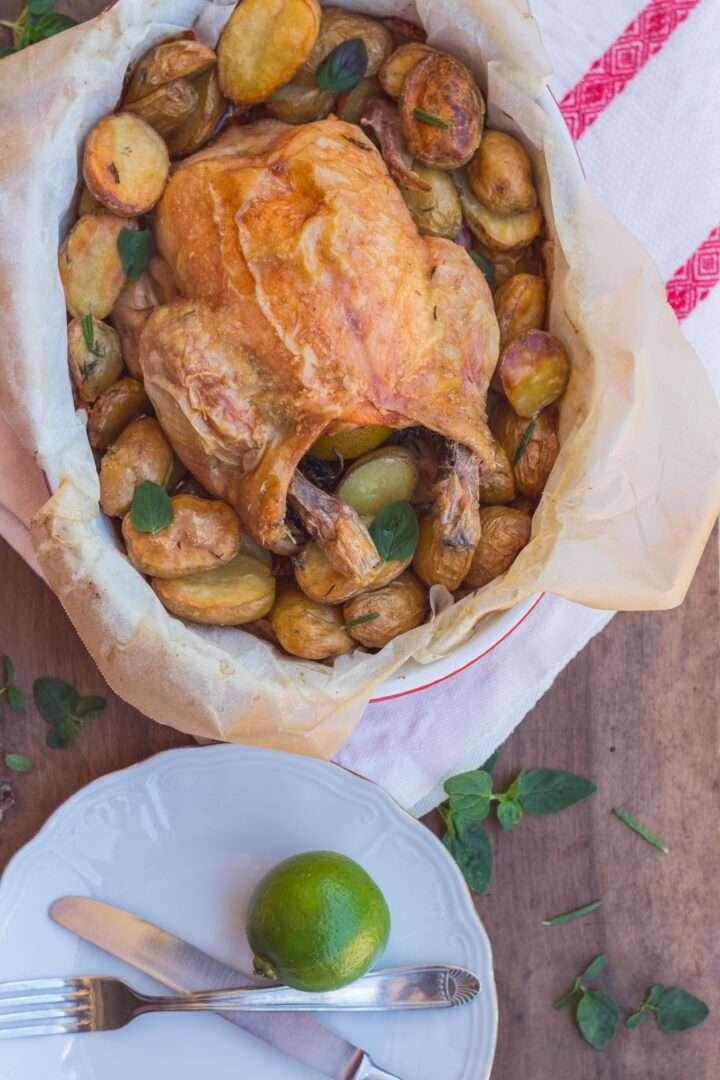 la ricetta del pollo arrosto al lime