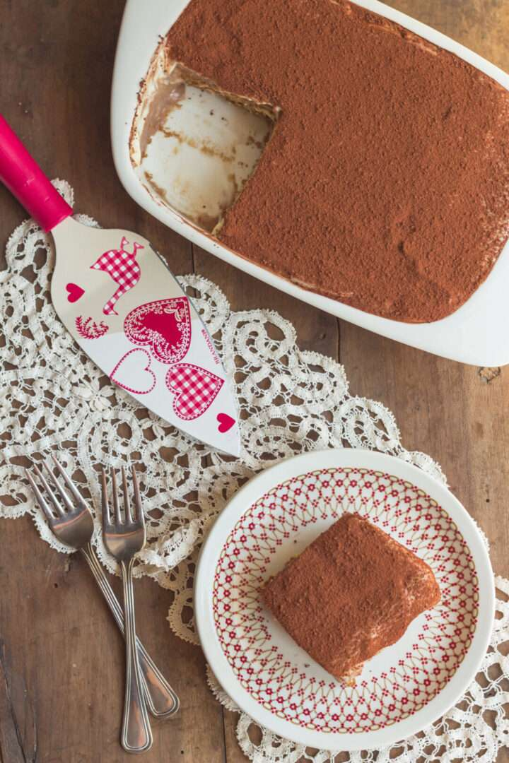 la ricetta della mattonella crema e cioccolato