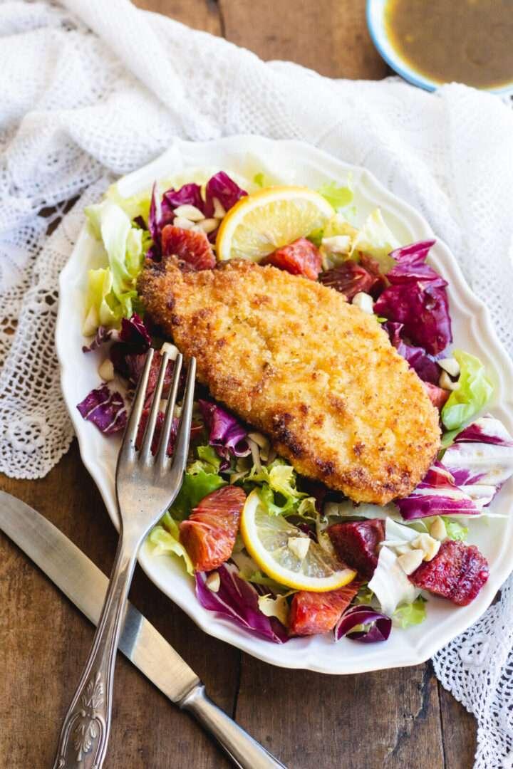 la ricetta del petto di pollo impanato