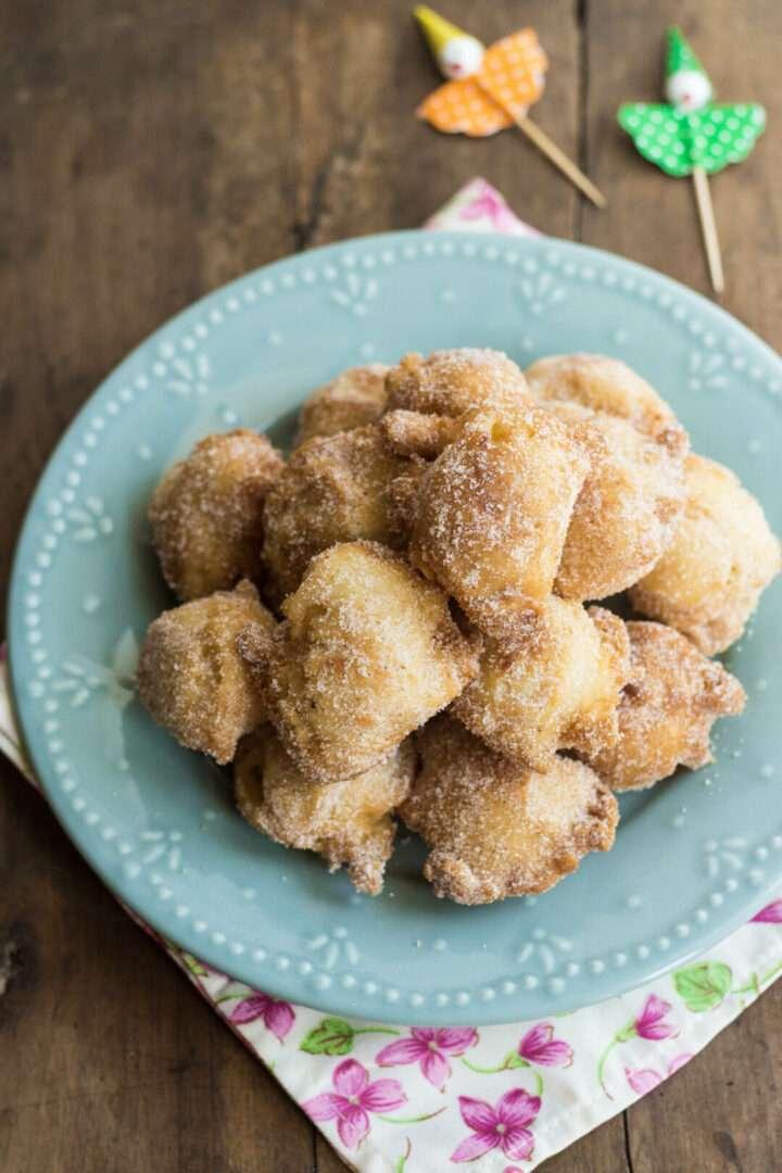 la ricetta delle frittelle alle mele e mascarpone