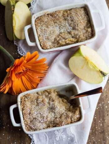 la ricetta del cobbler di mele ceco