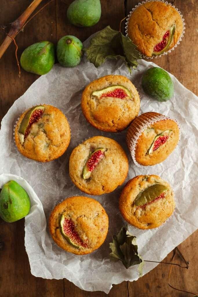 la ricetta dei muffin integrali con fichi e miele